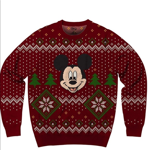 Disney Mens Ugly Christmas Sweater